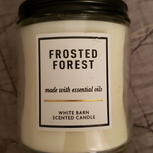 Frosted Forest Candle